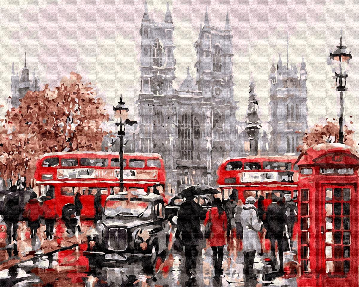 Картина по номерам Дождливый Лондон | GX8088