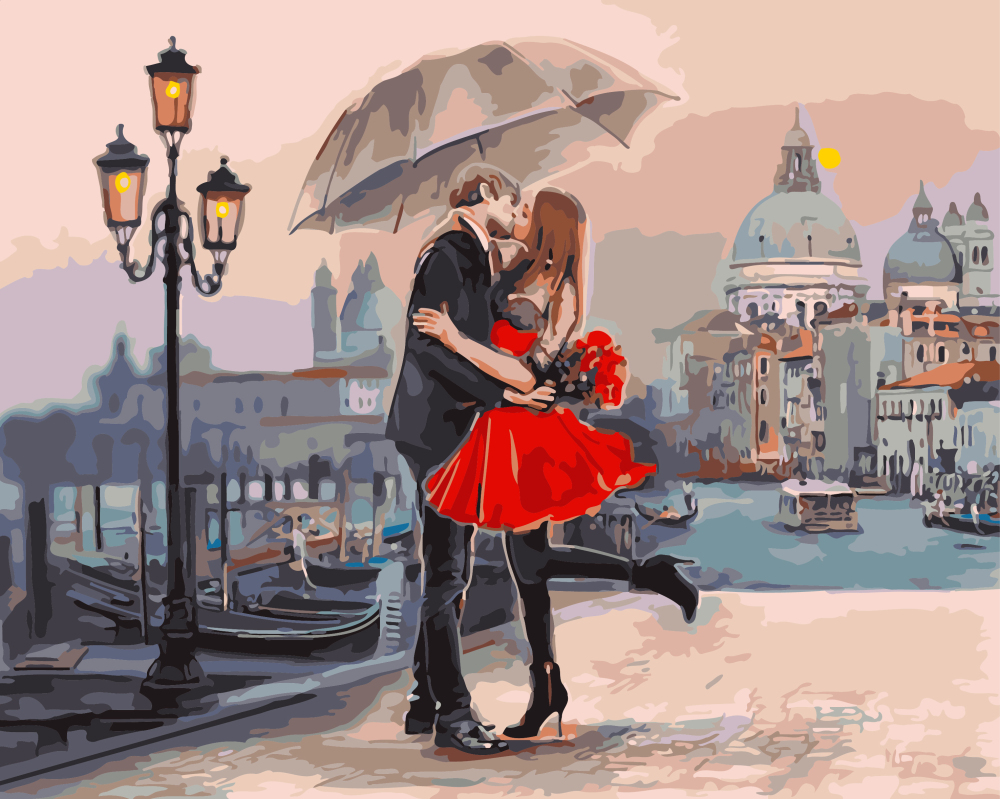 Картина за номерами Пара в Венеції | GX9991