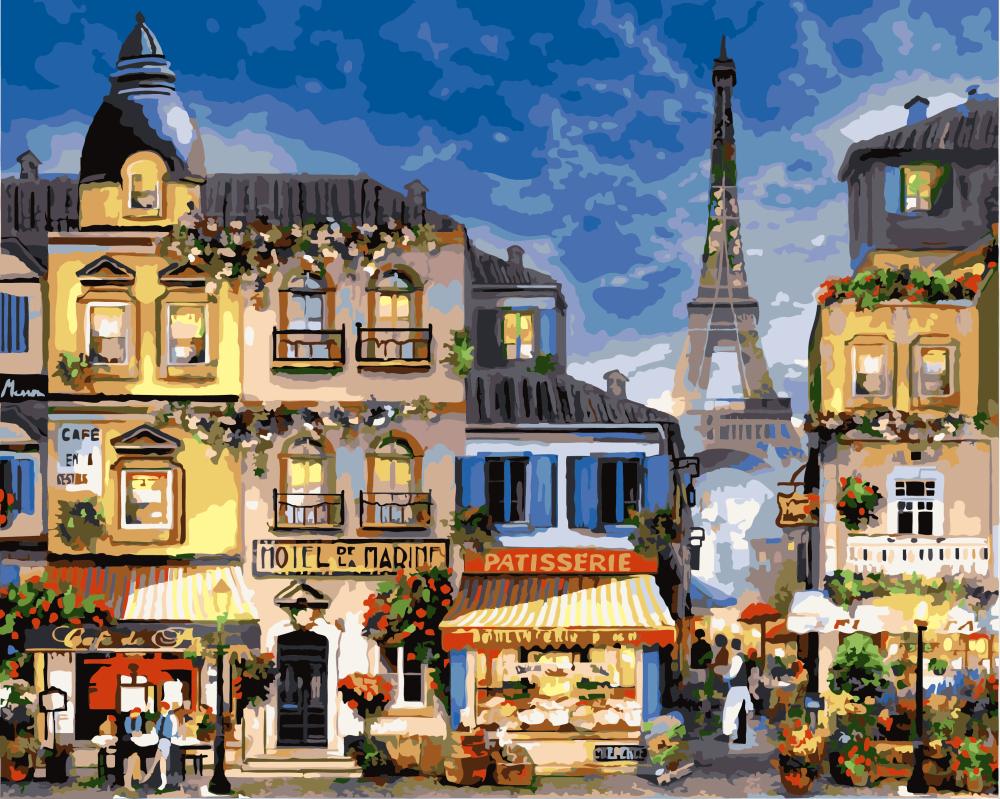 Картина по номерам Блистательный Париж | GX3241