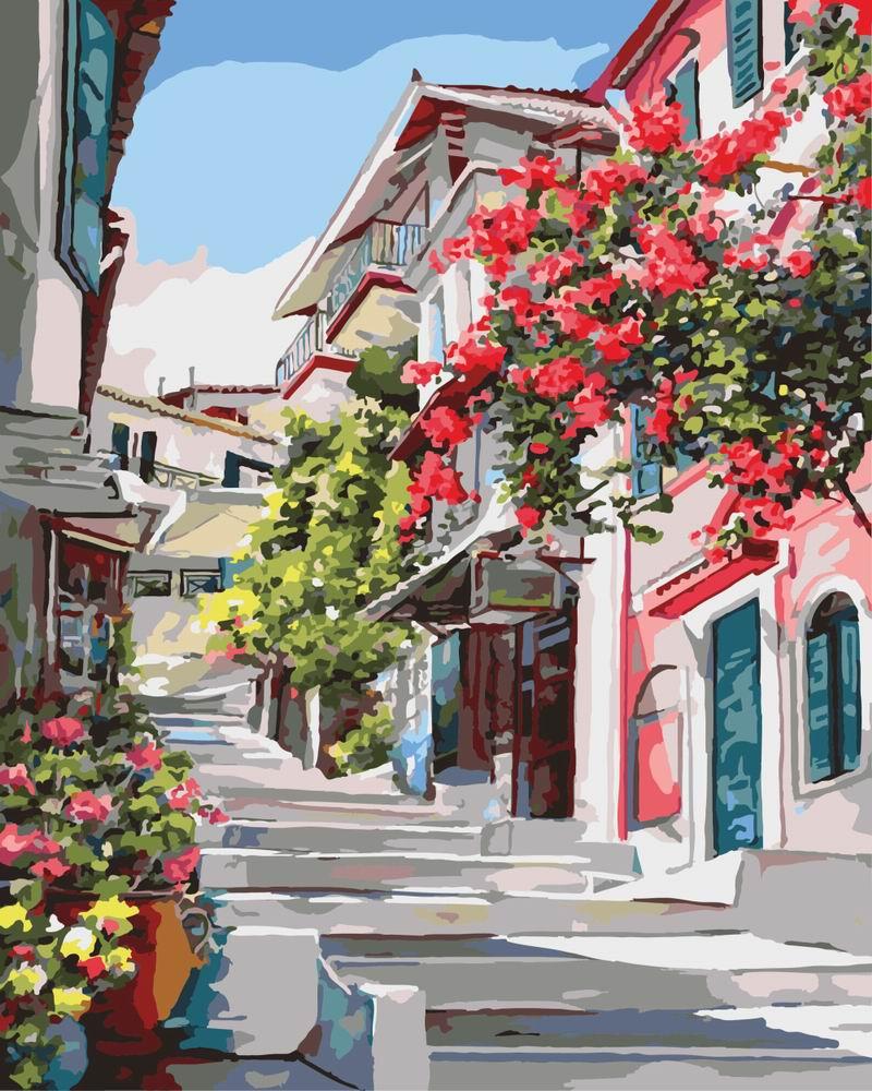 Картина по номерам Греция | GX7519