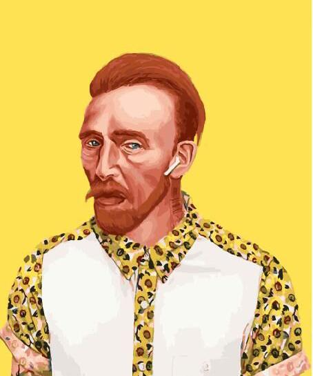Картина по номерам Ван Гог 21 века | GX29266