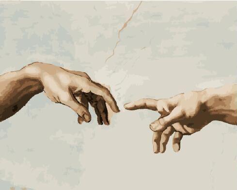 Картина за номерами Створення Адама | GX29287