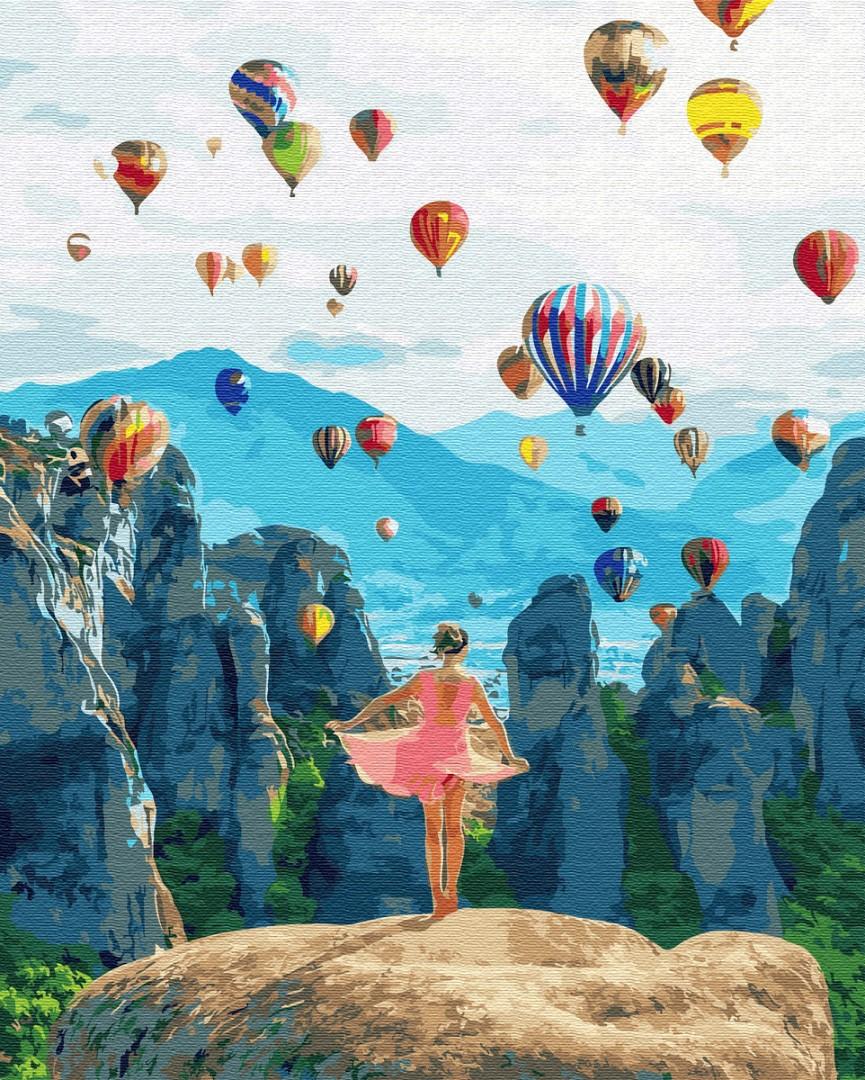 Картина по номерам Воздушные мечты | GX34846