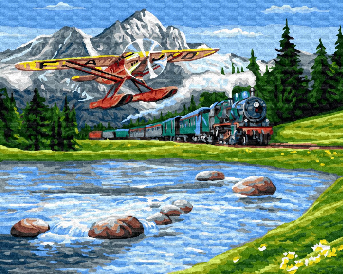 Картина по номерам Путешествие в горы | GX33234