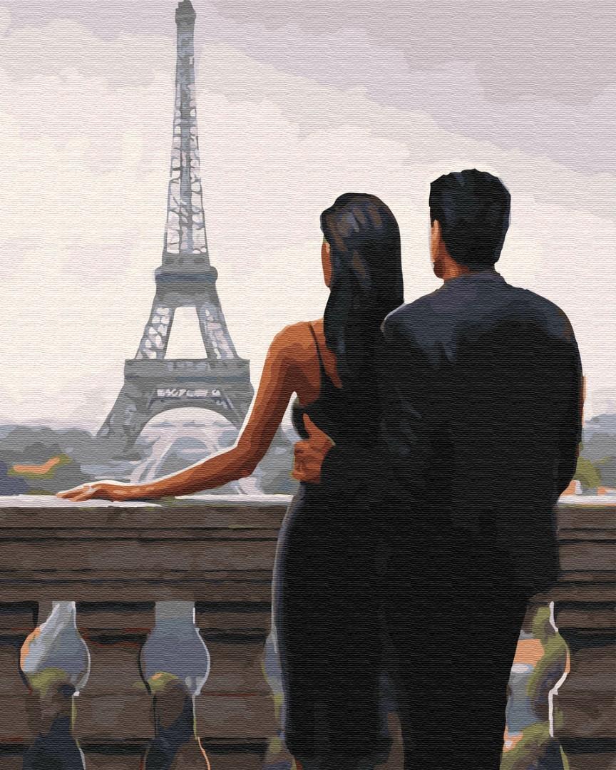 Картина за номерами Бажаний Париж   GX30669