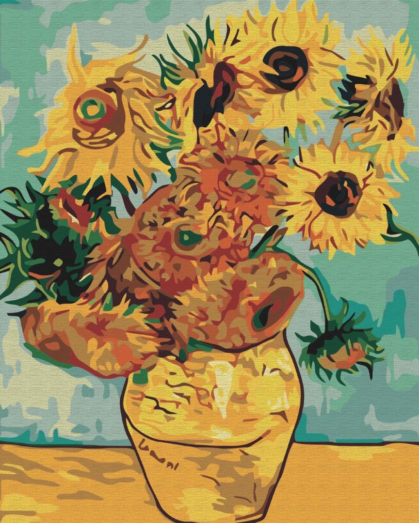 Картина за номерами Соняшники. Ван Гог | BS51337