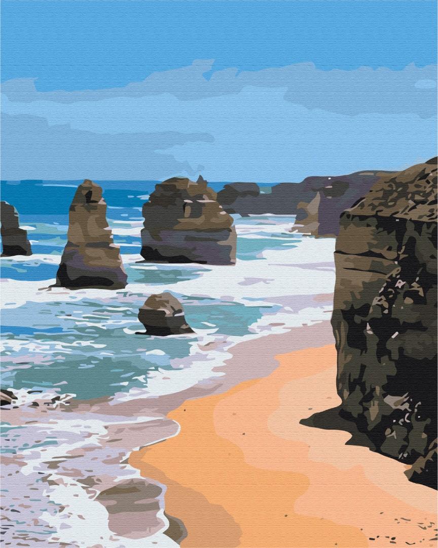 Картина за номерами Морські скелі | BS51386