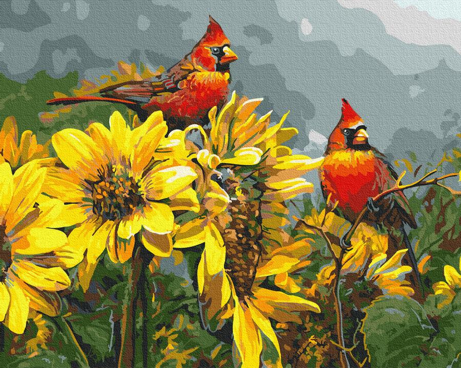 Картина за номерами Сонячні птахи | GX24690