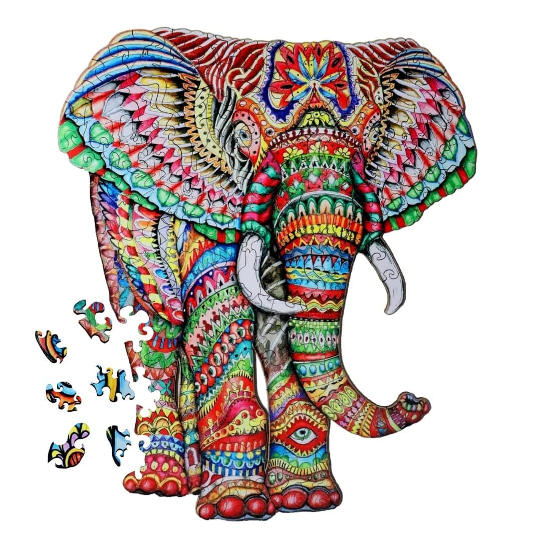 Картина за номерами Слон | DP8