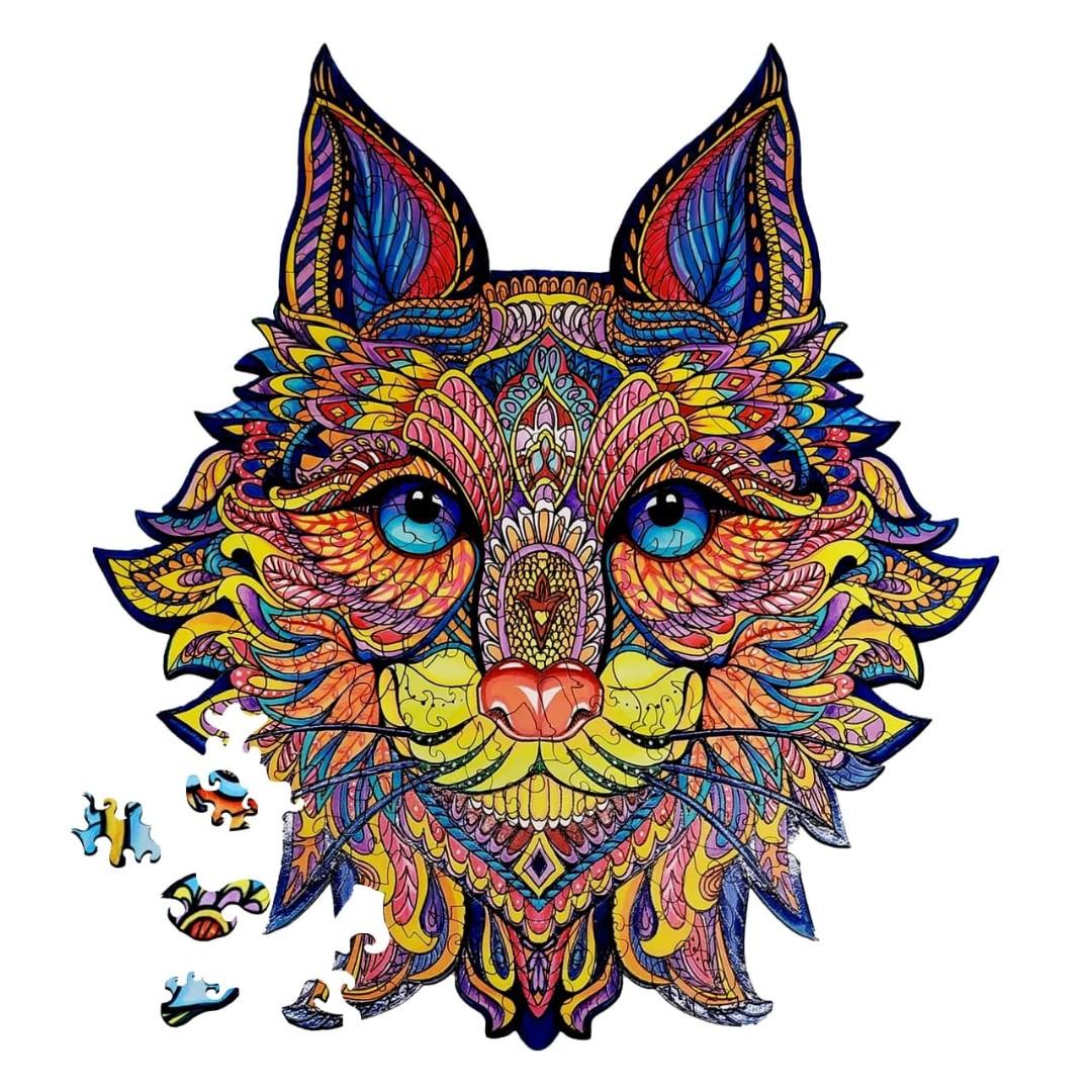 Картина за номерами Лісовий кіт | DP12