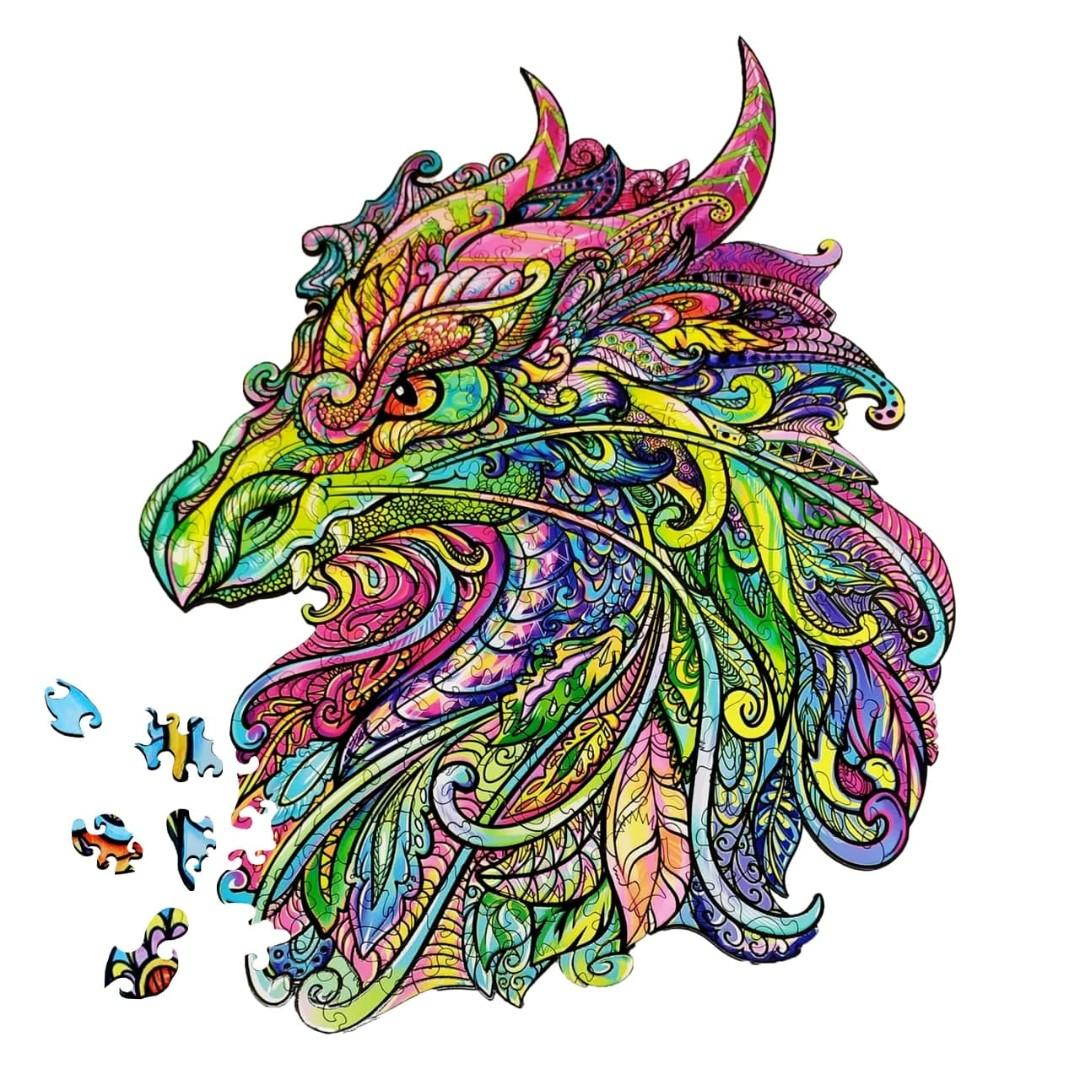 Картина за номерами Дракон   DP14
