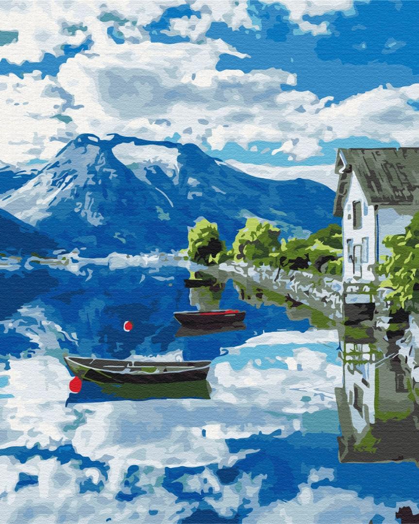 Картина за номерами Провінція Норвегії | BS32309