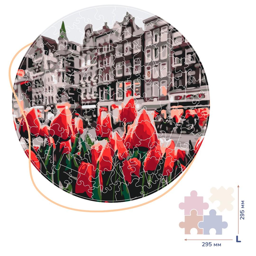 Картина за номерами Тюльпани Амстердаму (Розмір L) | BP01L