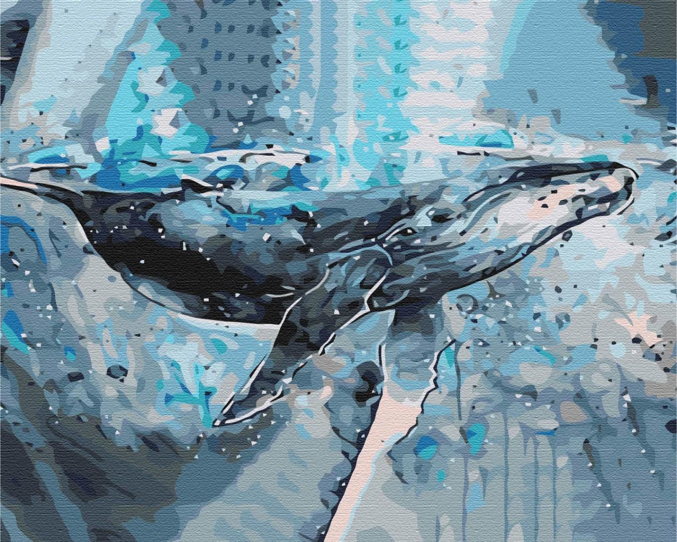 Картина за номерами Велетень з океану   BS52184